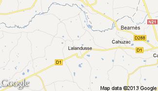 Plan de Lalandusse