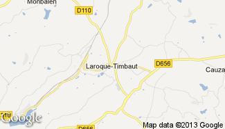 Plan de Laroque-Timbaut