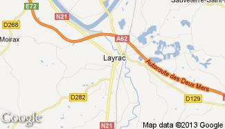 Plan de Layrac
