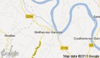 Plan de Meilhan-sur-Garonne