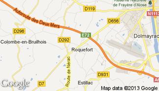 Plan de Roquefort
