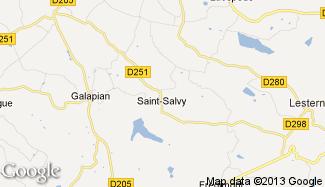 Plan de Saint-Salvy