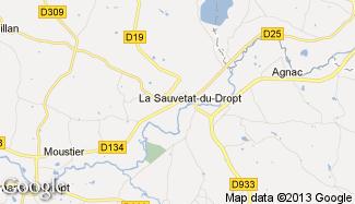 Plan de La Sauvetat-du-Dropt