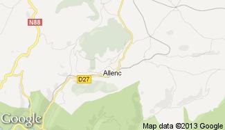 Plan de Allenc
