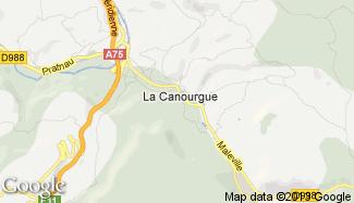 Plan de La Canourgue