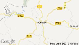 Plan de Fournels