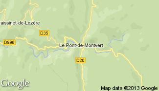 Plan de Le Pont-de-Montvert