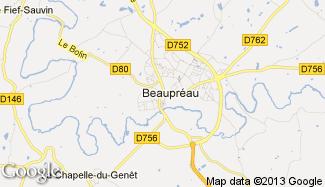 Plan de Beaupréau