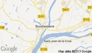 Plan de Bouchemaine