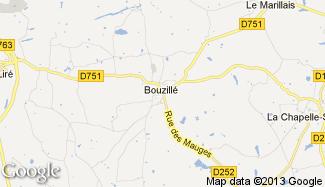 Plan de Bouzillé