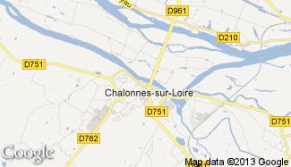Plan de Chalonnes-sur-Loire