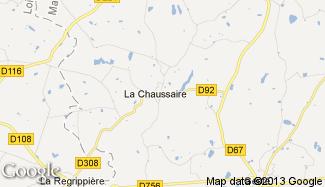 Plan de La Chaussaire