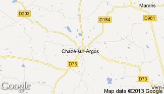 Plan de Chazé-sur-Argos