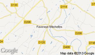 Plan de Faveraye-Mâchelles