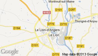 Plan de Le Lion-d'Angers
