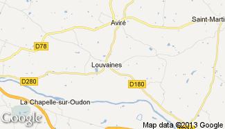 Plan de Louvaines