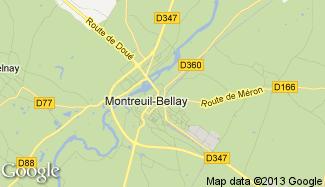 Plan de Montreuil-Bellay