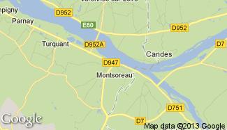 Plan de Montsoreau