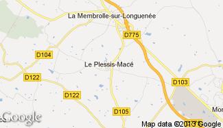 Plan de Le Plessis-Macé
