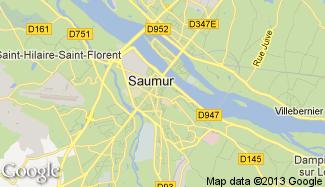 Plan de Saumur