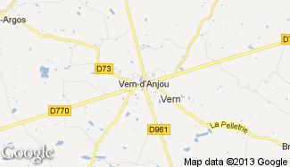 Plan de Vern-d'Anjou