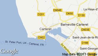 Plan de Barneville-Carteret