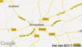 Plan de Bricquebec