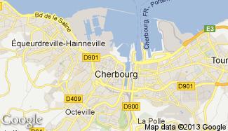 Plan de Cherbourg-Octeville