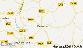 Plan de Domjean