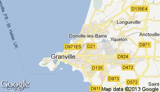 Plan de Donville-les-Bains