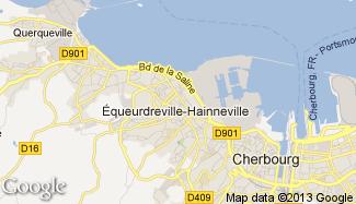 Plan de Équeurdreville-Hainneville