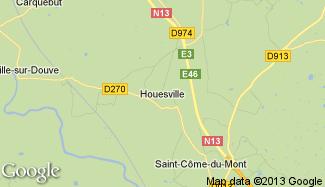 Plan de Houesville
