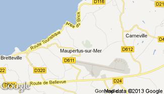 Plan de Maupertus-sur-Mer