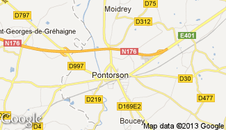 Plan de Pontorson