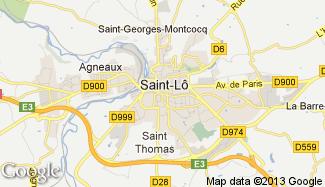 Plan de Saint-Lô