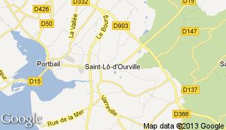 Plan de Saint-Lô-d'Ourville