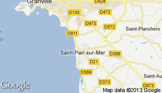 Plan de Saint-Pair-sur-Mer