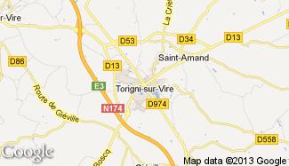 Plan de Torigni-sur-Vire