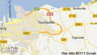 Plan de Tourlaville