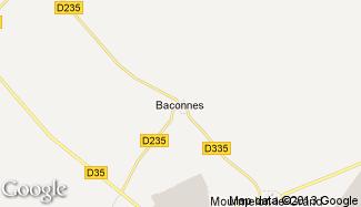 Plan de Baconnes