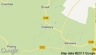 Plan de Chamery