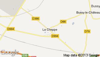 Plan de La Cheppe