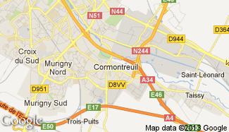 Plan de Cormontreuil