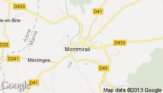 Plan de Montmirail