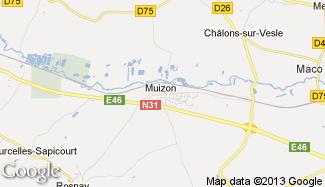 Plan de Muizon