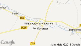 Plan de Pontfaverger-Moronvilliers