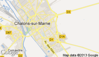 Plan de Saint-Memmie