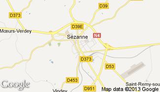 Plan de Sézanne