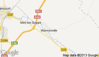 Plan de Warmeriville