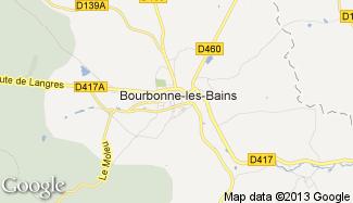 Plan de Bourbonne-les-Bains